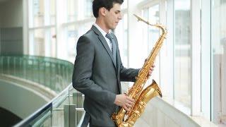 NUM BERÇO DE PALHA  - Natal instrumental sax