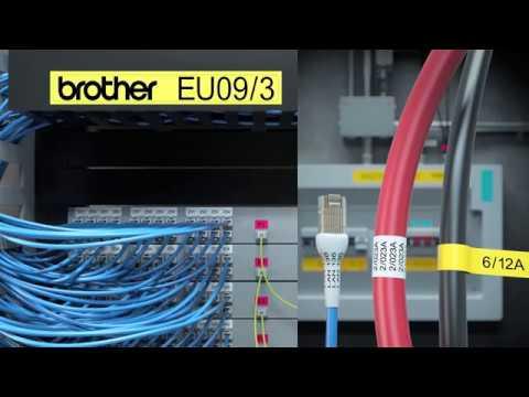 Brother PTE550W merkemaskin for elektrikere
