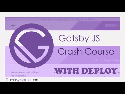Gatsby JS Crash Course