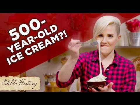 I Tried To Make 500-Year-Old Stretchy Ice Cream ? Tasty