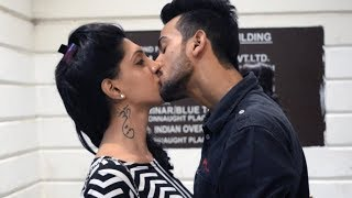 Kissing Prank India - Drop The Bottle | AVRprankTV width=