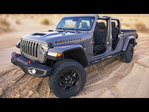 2020 Jeep Gladiator Mojave ? The Best Off-Road Midsize Pickup Truck