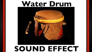 Water Drum Samples | Sound Effect | Loops |HD