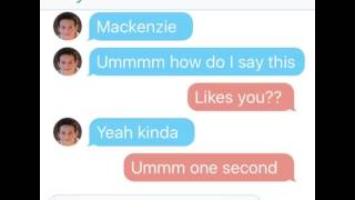 Hayden Summerall Ask Maddie Ziegler a question! 💫