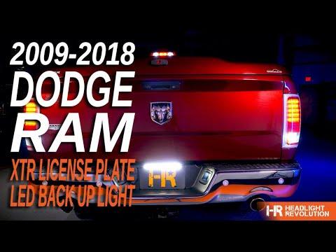 2pcs Bright White T10 168 LED Backup Reverse Lights Bulbs For 2011-2018 Ram 1500