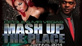 Ce'cile  Feat. Mr Vegas - Mash Up The Place - January 2014