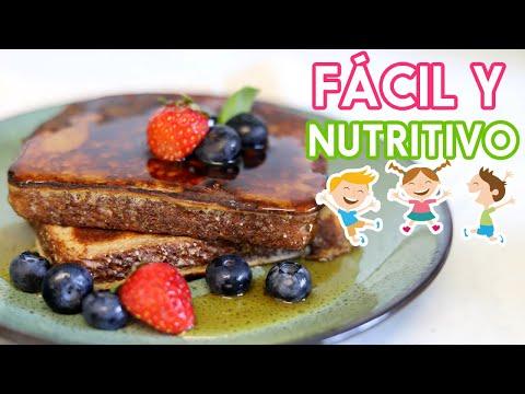 El Desayuno preferido de mis Niños - Fácil y nutritivo!