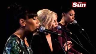 Sugababes - Crash & Burn (Live @ The Sun's Biz Sessions)
