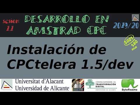 Instalación de CPCtelera 1.5 development branch