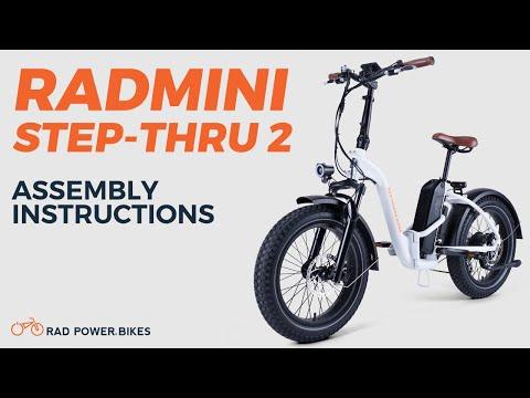 RadMini Step-Thru 2 Assembly Instructions | Rad Tech