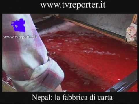 Nepal: la fabbrica di carta