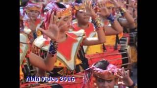 PAWAI PKB 2016 -  Adi Mardangga Sanggar Siwer Art / Nadi Swara
