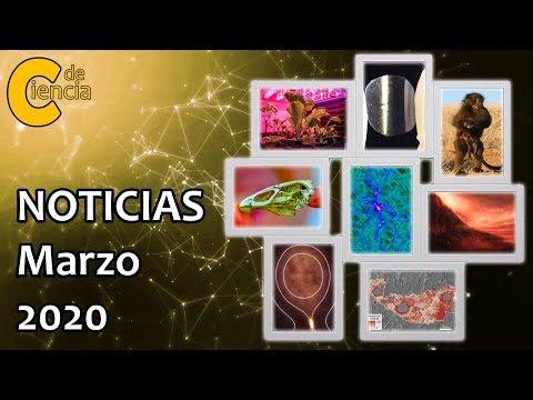 Noticias científicas marzo 2020