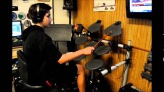"""Graham """"Anthropology"""" Charlie Parker Dizzie Gillespie Drum Cover"""
