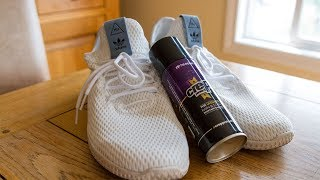 Making Pharrel Williams Hu Tennis Shoe Waterproof (Crep Protect)
