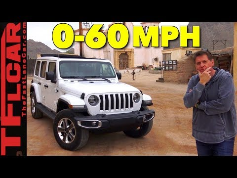 How Fast Is The New 2018 Jeep Wrangler?