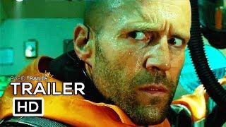 THE MEG Official Trailer (2018) Jason Statham Shark Horror Movie HD width=