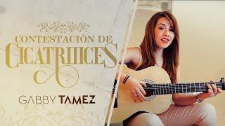 CONTESTACIÓN DE CICATRIIICES - GABBY TAMEZ (REGULO CARO)
