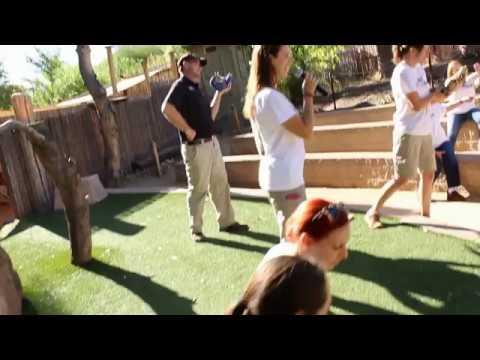 The Phoenix Zoo's Mannequin Challenge