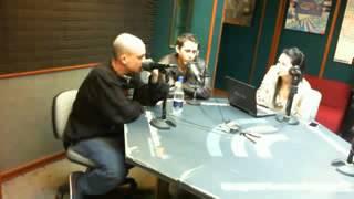 Canserbero: freestyle en la emisora