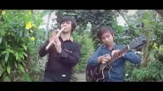 Alone - Marshmello (Acoustic Fingerstyle & Flute) Viridis Best Arrangement Cover