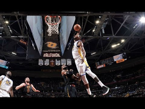 Every Dunk From the Warriors/Cavs Game | January 15, 2018