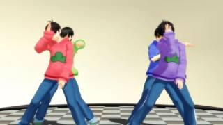 【MMDおそ松さん】カラ松 , 一松 / チョロ松,おそ松 - メカクシコード