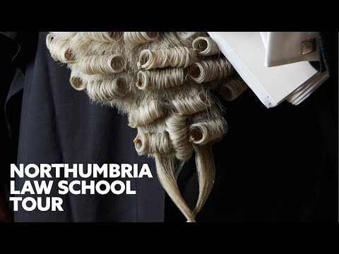 Student Tour of the Northumbria Law School | What is it Like Studying Law at Uni