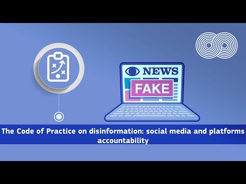 CONNECT University on The Code of Practice on disinformation photo