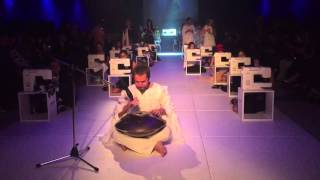 Apertura del desfile de Diseñadores Emergentes de la Escuela Argentina de Moda en el DesignersBA AW