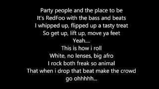 REDFOO Let's Get Ridiculous Lyrics Video