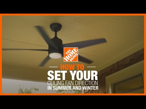 Ceiling Fan Direction in Summer and Winter