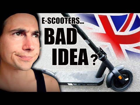 I WAS WRONG ABOUT ELECTRIC SCOOTERS... (Are E-scooters Legal UK? Aug 2020)