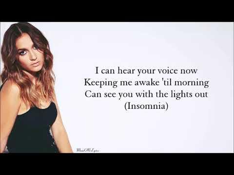 Daya - Insomnia [Lyrics]