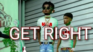 NBA youngboy - get right ( imvu music video)