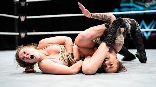 Ronda Rousey sottomette Ruby Riott - WWE Live Event, Roma 10 novembre 2018