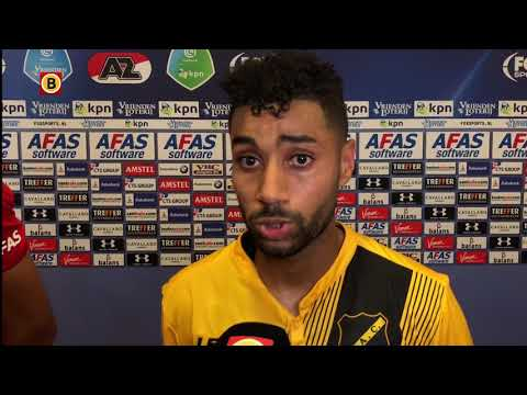 Anouar Kali  had zich de wedstrijd tegen AZ anders voorgesteld.