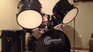AC/DC - Back in Black drum cover