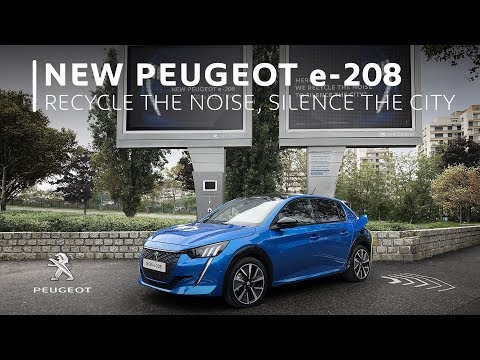 NEW PEUGEOT 208 - RECYCLE THE NOISE, SILENCE THE CITY