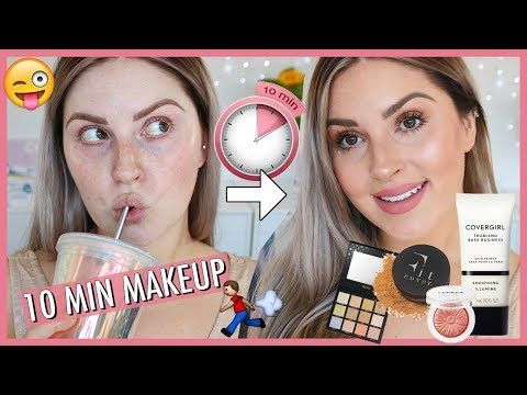 EASY 10 MINUTE MAKEUP ? My Everyday Makeup Routine!
