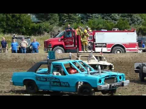 Winner Demolition Derby 2018 Chain Class Part 1