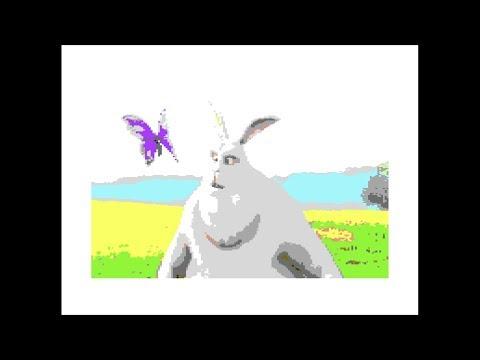 C64 - REU Player - Big Buck Bunny 16MB