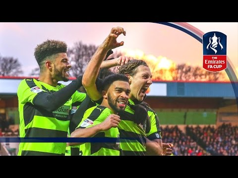 Rochdale 0-4 Huddersfield Town - Emirates FA Cup 2016/17 (R4) | Official Highlights