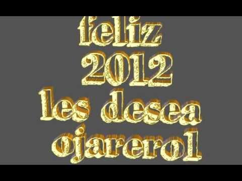felicitacion del año 2012