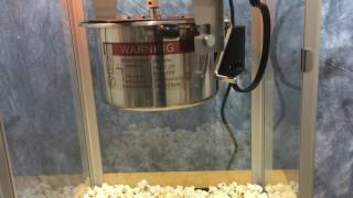 Movie theater style popcorn popper - HD - Video sound effects