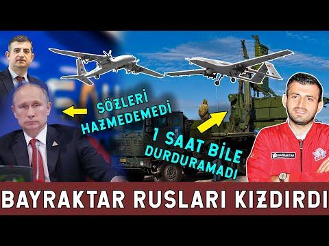 Rusya Hazmedemedi! Bayraktar'ın Vurucu Gücü Korkuttu!