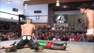 pwg: awesome 6 man tag sequence!!