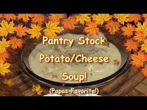 Pantry Stock PotatoCheese Soup 2018