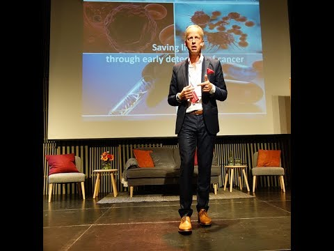 Pelle Redare, iCellate Medical pitch, UIC dagen 2017