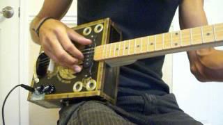 Tramp Box Guitars/Tabak Especial Deluxe cigar box guitar